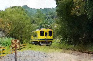 いすみ鉄道・FotoSketcher