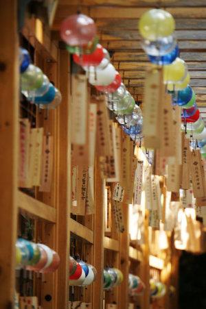 氷川神社・風鈴