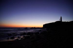 犬吠埼灯台の日の出